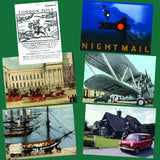 Heritage Transport Postcard set