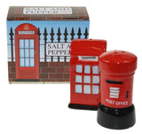 Postbox and Phone Box Salt and Pepper shakers