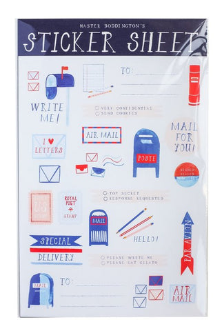 Airmail Sticker
