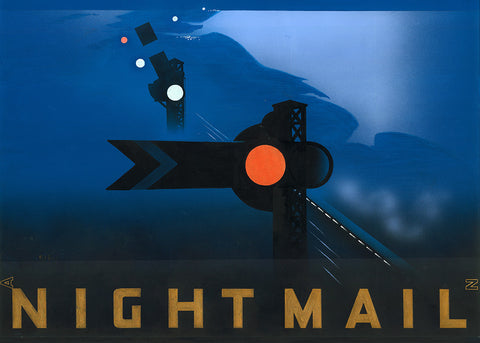 Nightmail Postcard