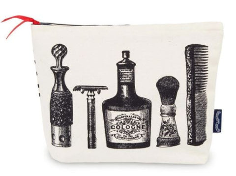 Aftershave Screen Printed Wash Bag
