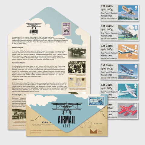 Airmail 1919 Presentation Pack