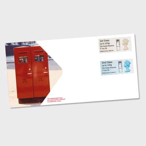 'F' Type letter box First Day Cover