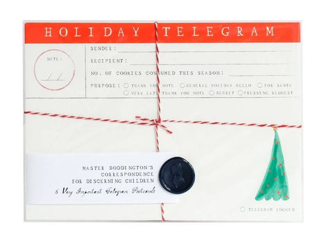 Mr Boddington Holiday Telegrams