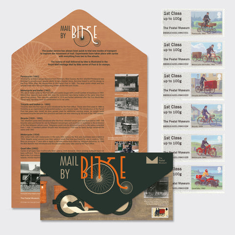 Mail by Bike Presentation Pack