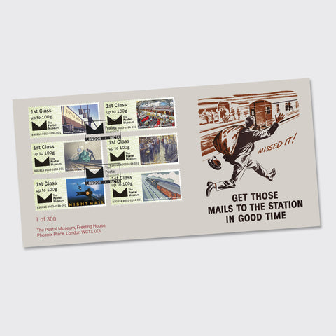 Mail by Rail First Day Cover
