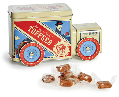 London Delivery Van Toffee Tin