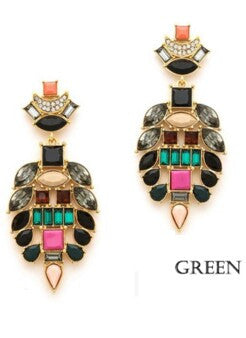 Artistic Gem Earrings - Flutterby Jewelry and Accessories