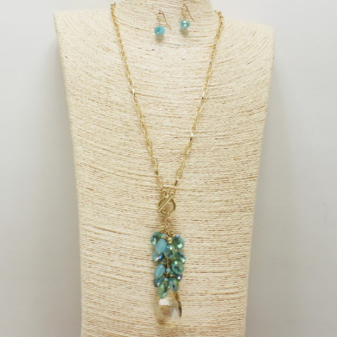 Grapevine Necklace Set - Flutterby Jewelry and Accessories