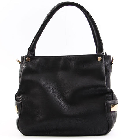 Faux Leather Handbag - Flutterby Jewelry and Accessories