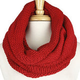 Turtleneck Knit Scarf - Flutterby Jewelry and Accessories