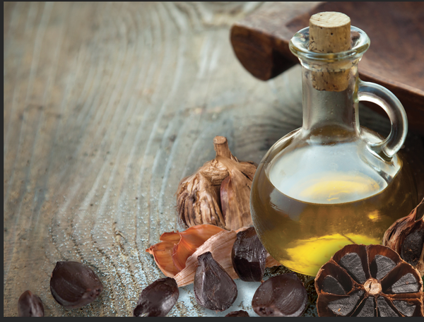 EVOO and Black Garlic: The Health Perks