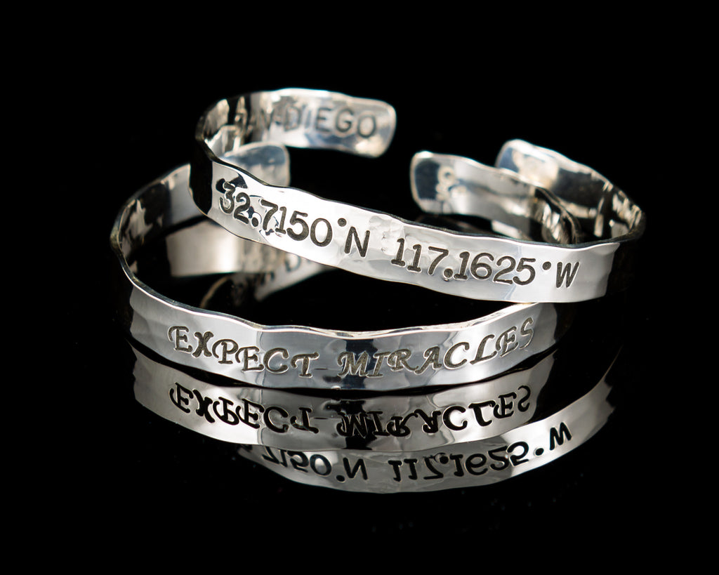 Medium Bangle with Quotes