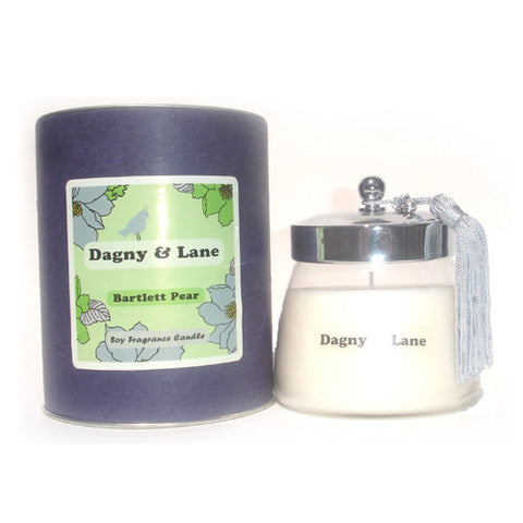 Soy Candle - Bartlett Pear-tart, ripened pear