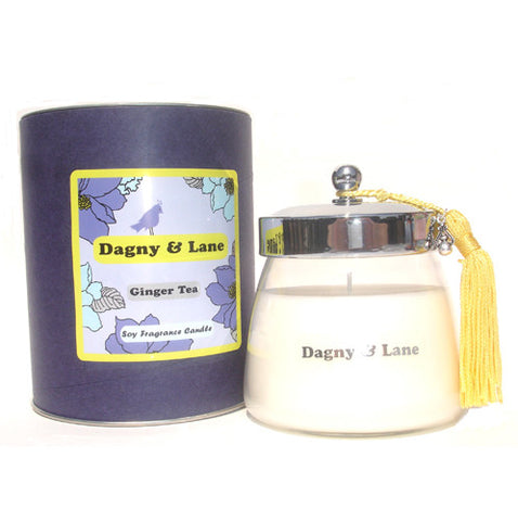 Soy candle-Ginger Tea-white tea & fresh ginger