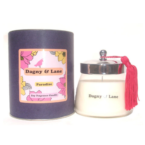 Soy Candle- Paradise-tropical fruit & sugar