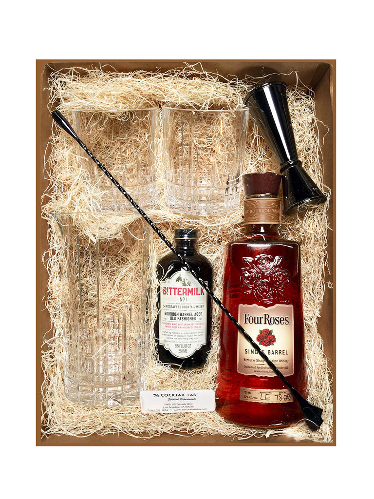 Four Roses Single Barrel Old Fashioned Kit