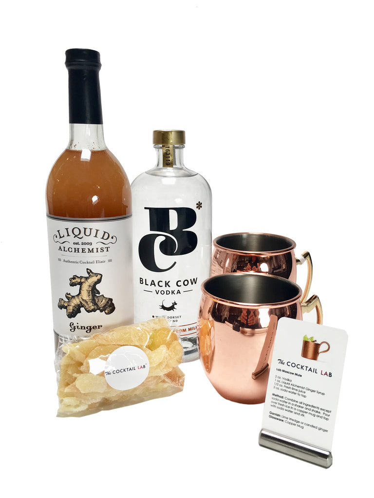 Black Cow Vodka Moscow Mule Set
