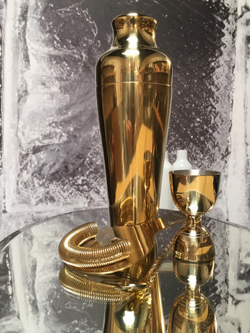 Luxe Gold Barware Set