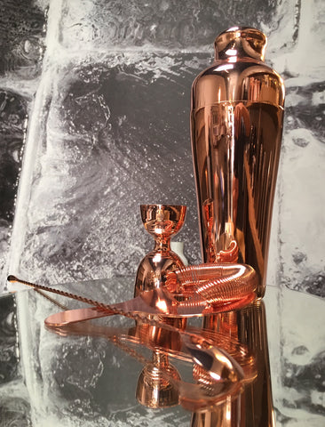 Luxe Copper Barware Set