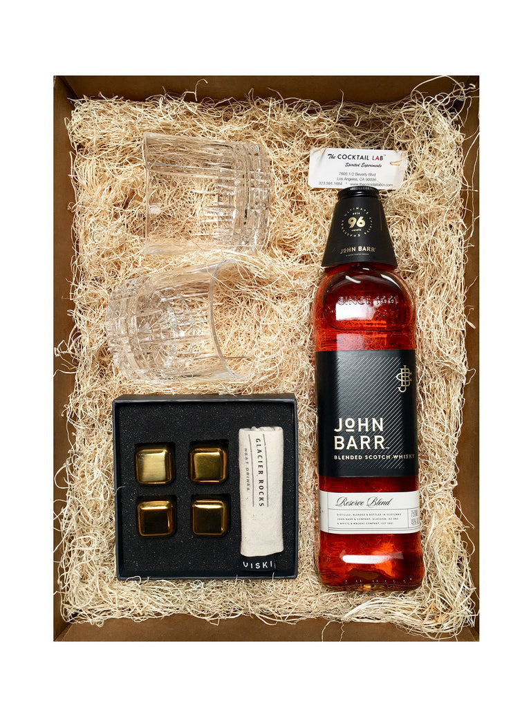 John Barr Blended Scotch Gift Set