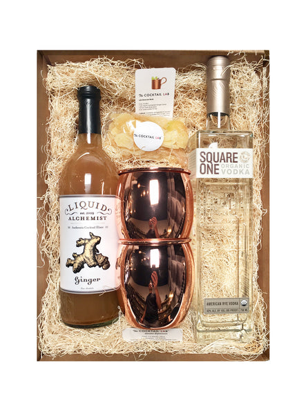 Square One Vodka Moscow Mule Set