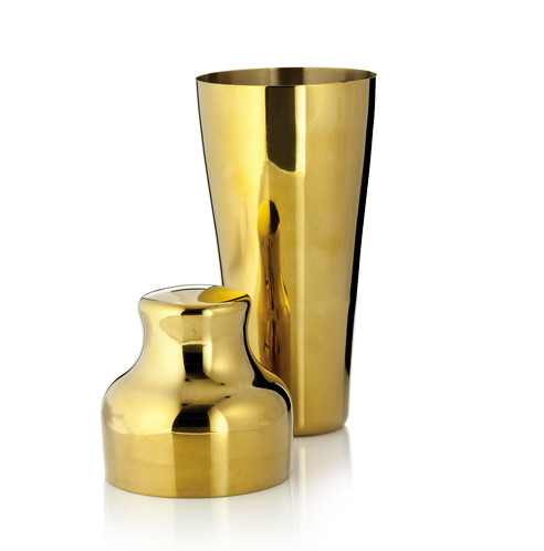 Belmont Gold Cocktail Shaker