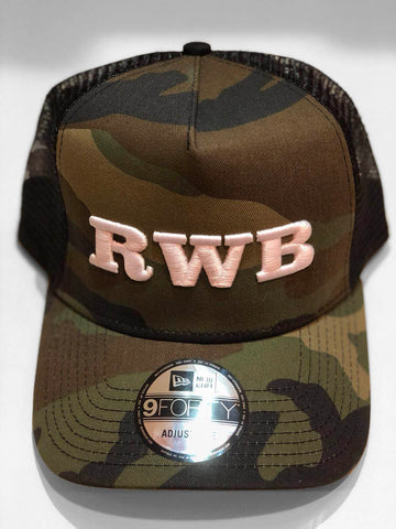 RWB New Era Trucker Cap (White)