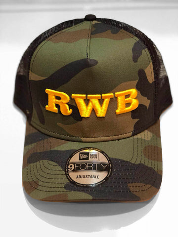 RWB New Era Trucker Cap (Gold) SOLD OUT