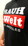 2018 RAUH-Welt Los Angeles Black/Red Crew Tees