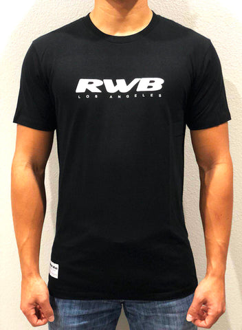 2018 RWB Los Angeles Black/Purple/Yellow Crew Tees