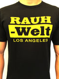 RAUH-Welt Los Angeles Black/Gold Crew Tees
