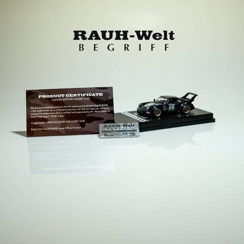 1/64 Diecast RWB 964 SWEET JANE Idlers Car 2020 TAS Limited Edition