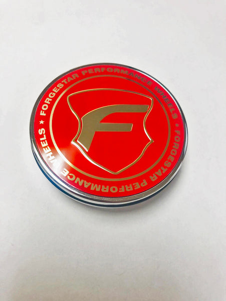 FORGESTAR LIMITED RED CENTER CAPS (OUT OF STOCK)