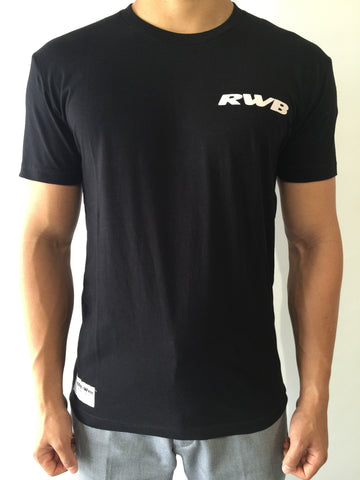 Black Regular Crew Tees