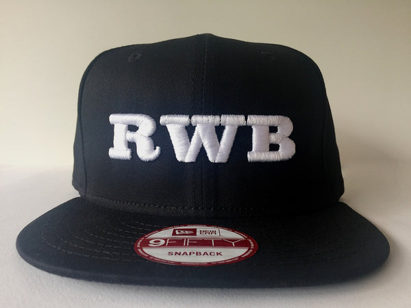 RWB New Era Snap Back (White)
