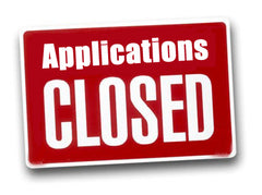 Applications closed button