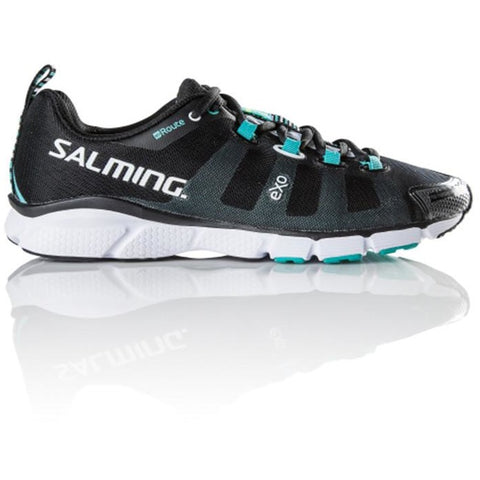 SALMING ENROUTE Womens Black Running Shoe, triathlon shoe, run