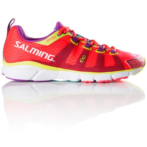 SALMING ENROUTE Womens Diva Pink Running Shoe, triathlon shoe, run