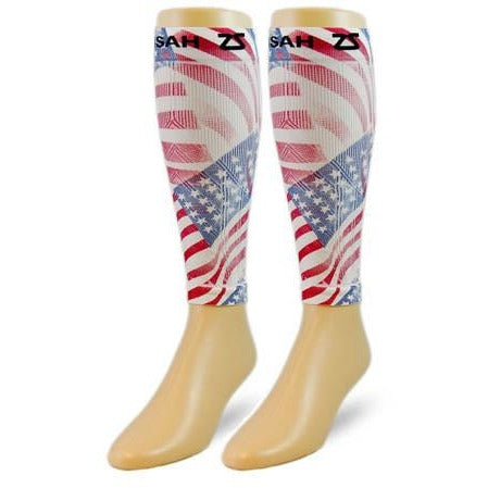 Zensah Compression Sleeves American Flag