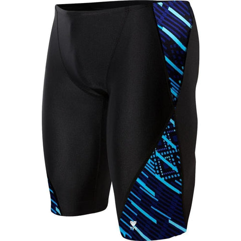 TYR MEN'S ZYEX BLADE SPLICE JAMMER SWIMSUIT