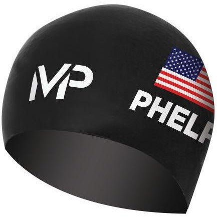 Michael Phelps Race Cap Black/White (USA Limited Edition)