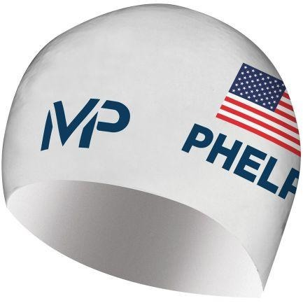 Michael Phelps Race Cap White/Navy (USA Limited Edition)