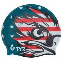 TYR Patriot Flag Silicone Cap