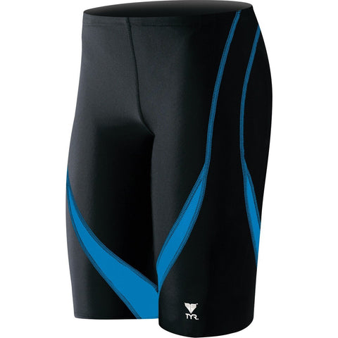 TYR MEN'S ALLIANCE SPLICE JAMMER SWIMSUIT Blue