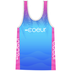 COEUR Women's Triathlon Top in Kona 17 Design