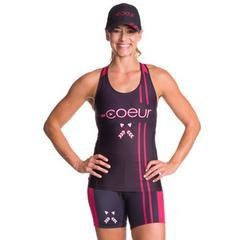 Coeur Women's Triathlon Top - 2017 Courage Design