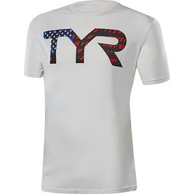 TYR MEN'S STAR-SPANGLED GRAPHIC TEE
