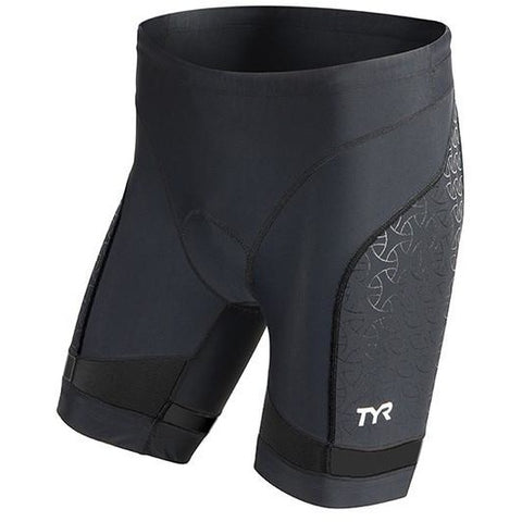 "TYR Men's 7"" Tri Shorts Black"