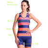 Coeur Women's Triathlon Top - Island Vibe